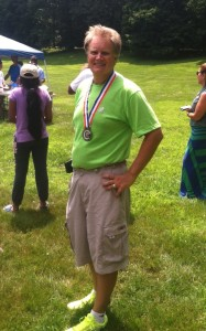 Atlantic Cape Coach, John Repnicki, 2015 Garden State Games Champion; Master Male Recurve