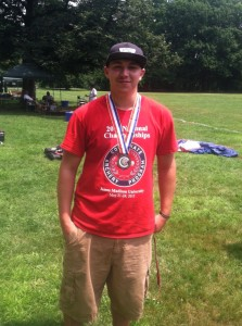 Atlantic Cape Archer, Phil Holmer, 2015 Garden State Games Champion; Jr Male Recurve
